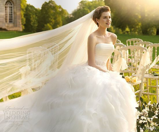 La Sposa 2013 Wedding Dresses — Glamour Bridal Collection