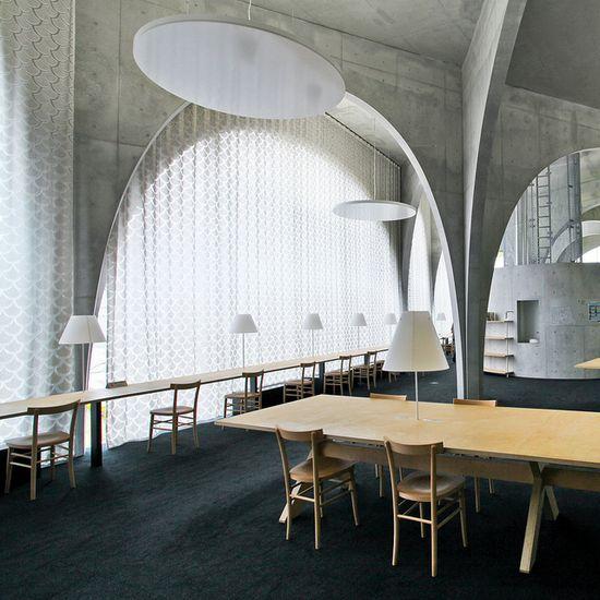 Tama Art University Library in Toyo Ito, Japan