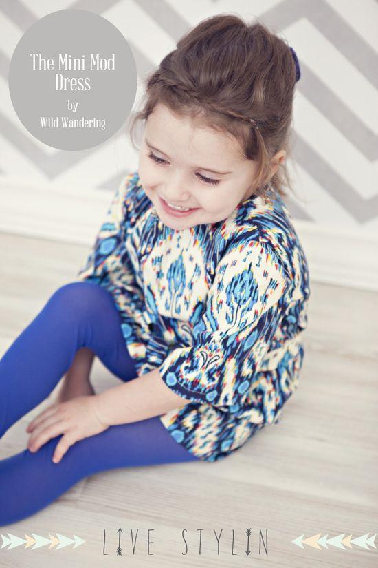 Mini Mod Dress Tutorial and Free Pattern