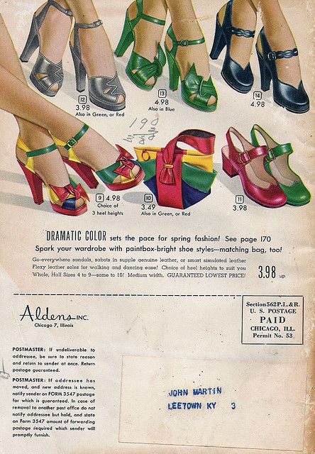 All of the above, please! 1949 Alden's Catalog.