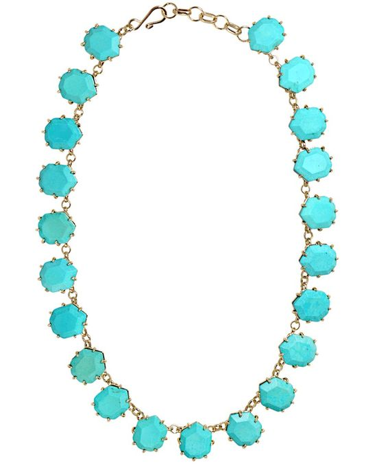 Sam Necklace in Turquoise