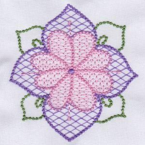 Candlewick Floral Ar