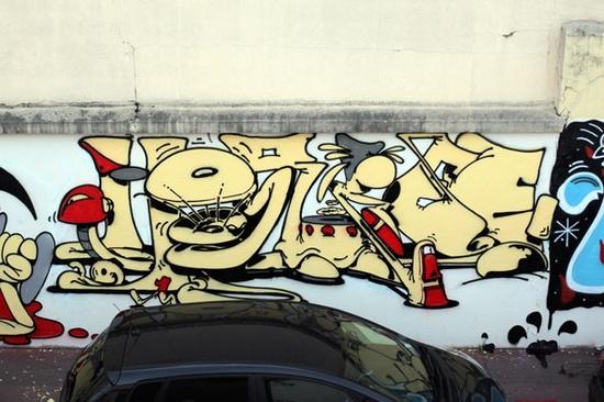 Horfe – read more @ www.juxtapoz.com/... – #graffiti #horfe #urban