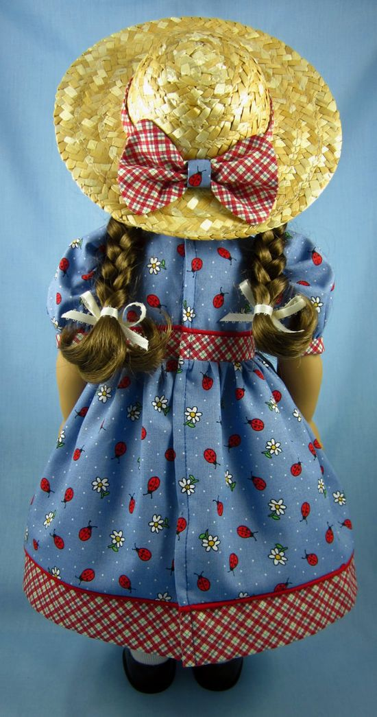 Ladybugs and Daisies Summer Dress $27.00