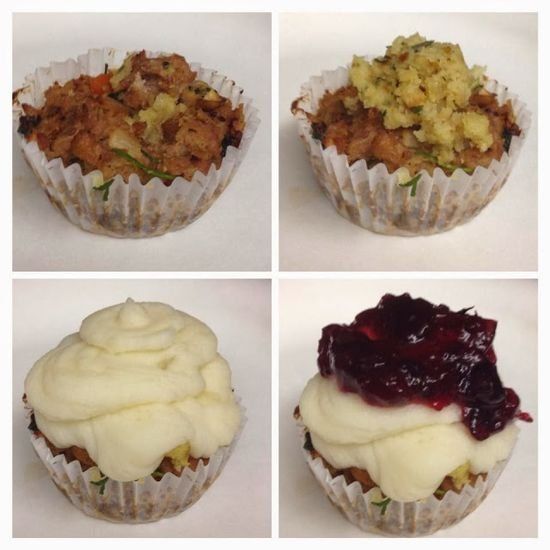 Savory Thanksgiving Day Cupcake Recipe!