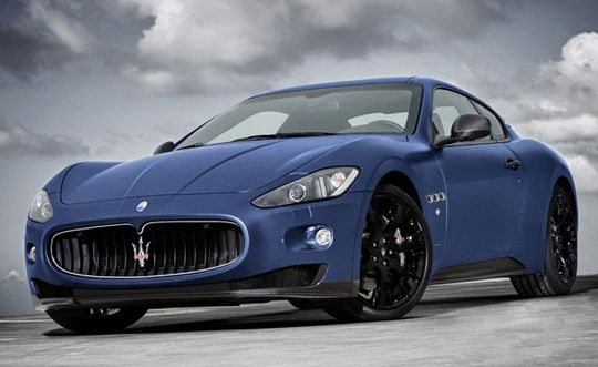 To celebrate the 150th anniversary of the Italian unification, luxury sports car maker Maserati presents a GranTurismo S Limited Edition version in a matte blue finish. Only 12 of these will be produced and sold exclusively on the Italian market.