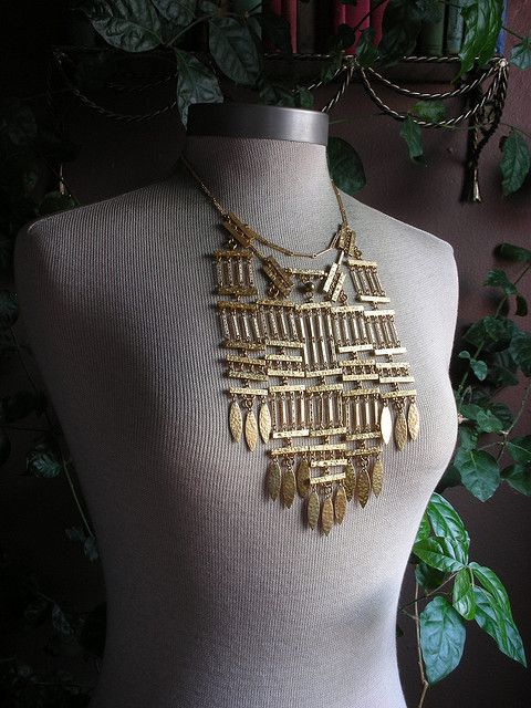 Brass links configuration 5 by Reverie jewelry, via Flickr