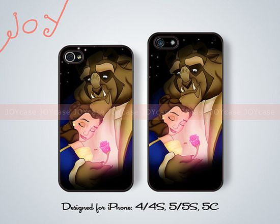Beauty and the Beast iPhone cases iPhone 5 case iPhone 5C case iPhone 5S case rose iPhone 4 case iPhone 4S case disney iPhone case JOY-65