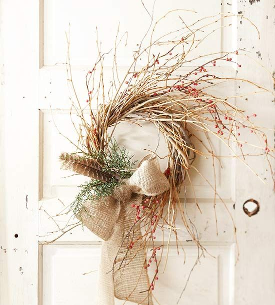 Simple Twig Wreath