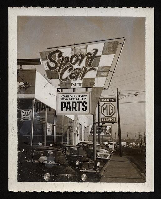 Sport Car Centre - Washington, 1960s