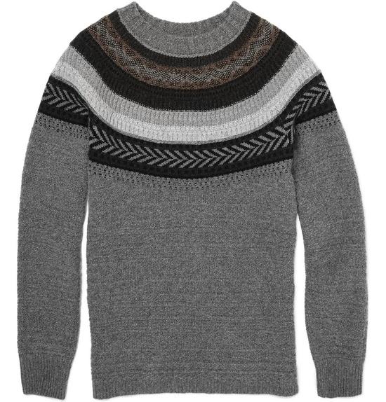 Burberry ProrsumFair Isle Knit Sweater