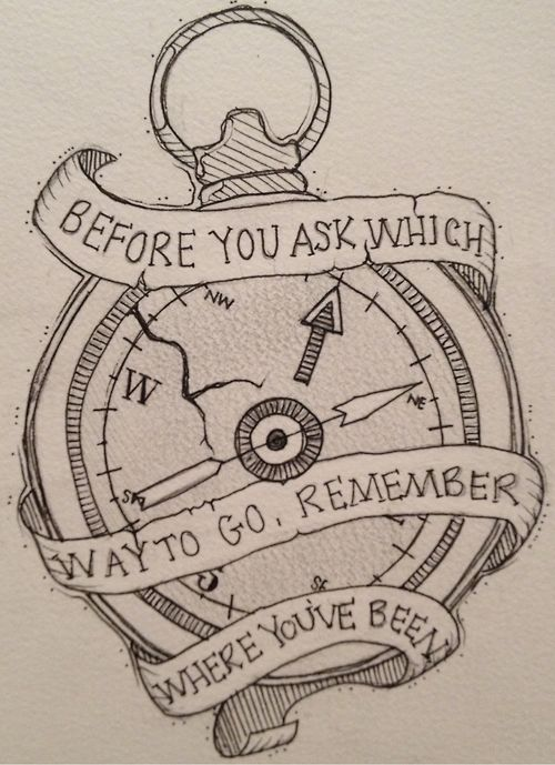 Time- Before You Ask Which Way to Go, Remember Where You've Been