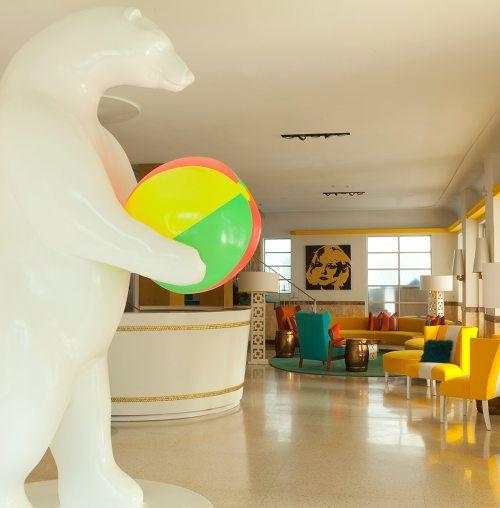 Lords of South Beach Hotel Lobby..... So fun!!!