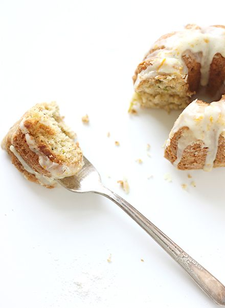 Browned Butter Zucchini Bundt Cakes
