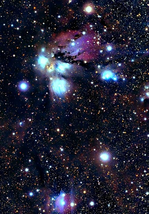 NGC 2170 is a reflection nebula in the constellation Monoceros. It was discovered on October 16, 1784 by William Herschel.