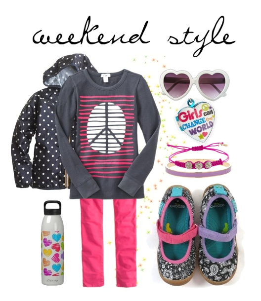 kids outfit idea for the weekend!