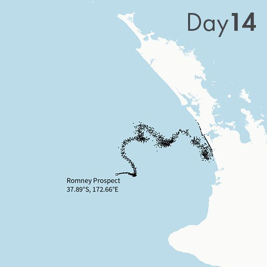 NZ Oil Spill Map -- Explore the possible impact of deep sea oil drilling