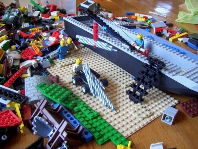 How Make Lego Birthday Party Invitations Like Merchant Ships