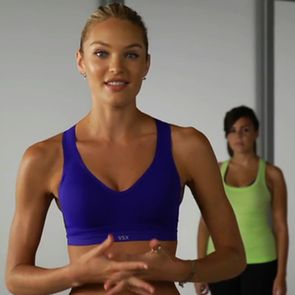 10-minute Victoria's Secret Model Workout