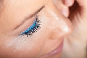 Go bold with blue eye makeup