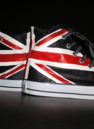 Customized Chuck Taylor's Converse Shoes,  Shoes