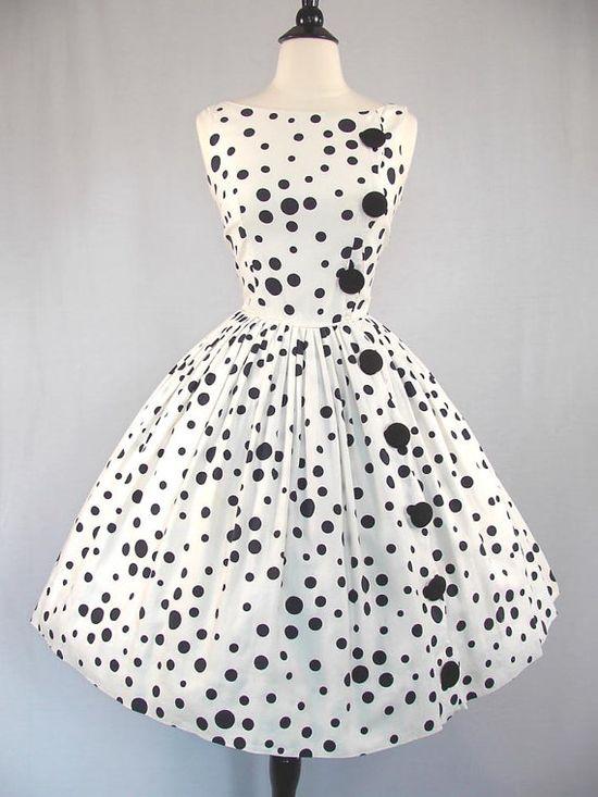 50's vintage sun dress