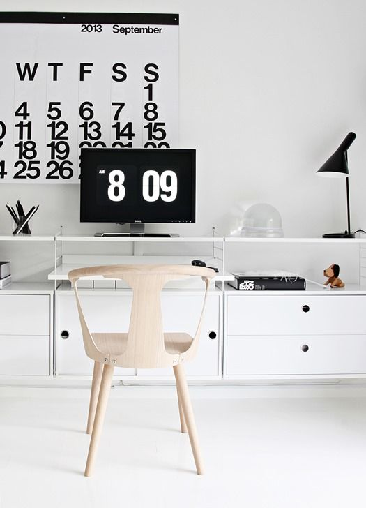 Work space from Nordic Leaves