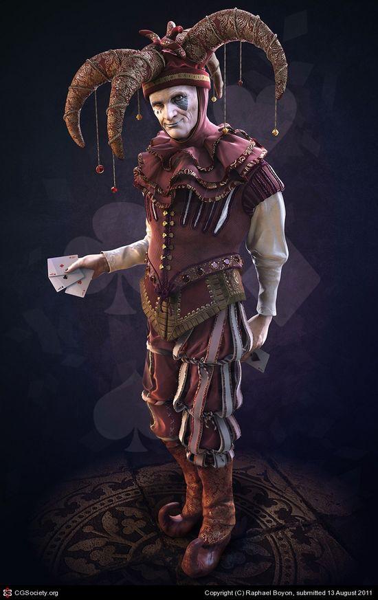 CGTalk - Jester, Raphael Boyon (3D)