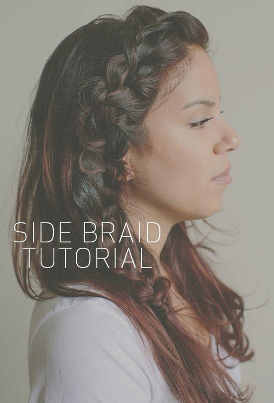 Monday Work Wear: {Hair Tutorials Even I Can Do!} Braids.