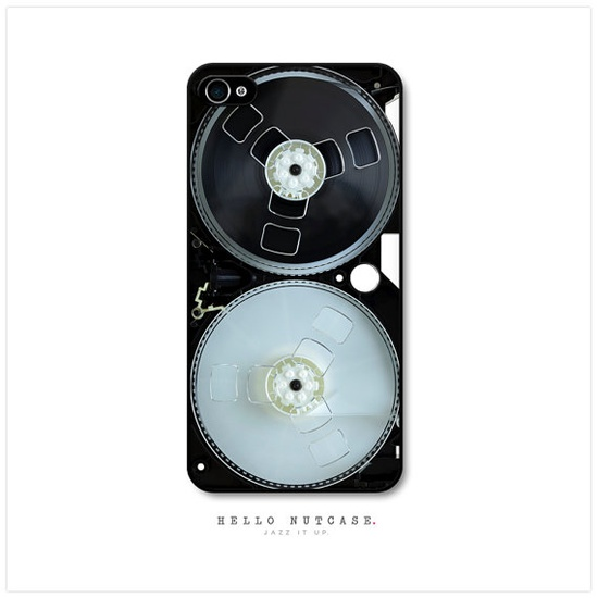 iPhone 4 and 4S case Retro Tape