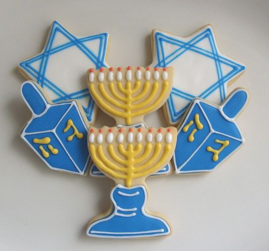 HANUKKAH  COOKIE MIX  Hanukkah Decorated Cookies