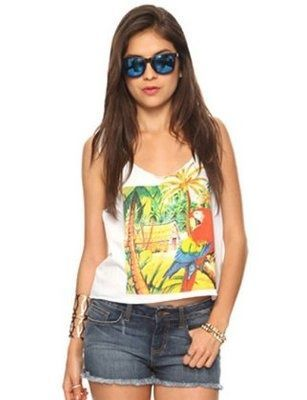 Tropical clothes for #summer clothes style #summer outfits #cute summer outfits #clothes summer #tlc waterfalls