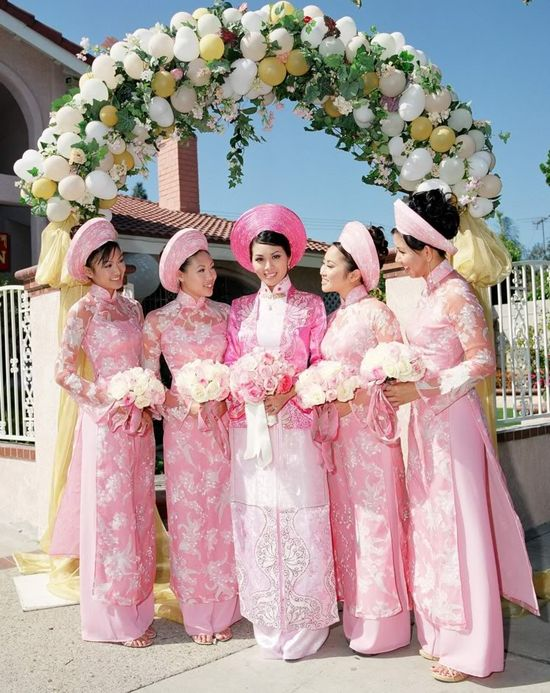 #Vietnamese #ao dai #wedding
