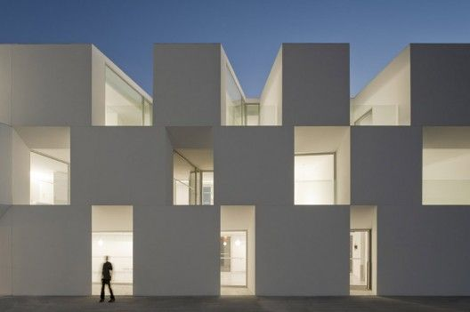 House for Elderly People, Portugal by Francisco Aires Mateus; Photo: Fernando Guerra