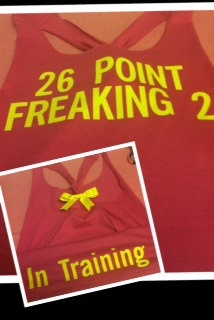 26 Point Freaking 2 Workout Racerback Tank. via Etsy.