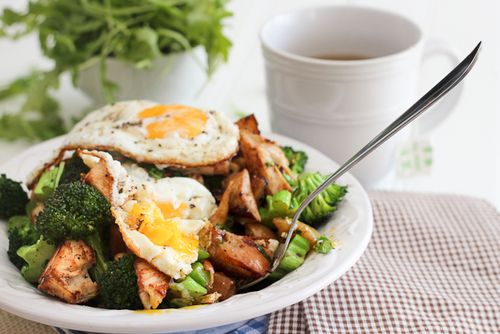 Oooh, egg in a salad with chicken - sounds good!