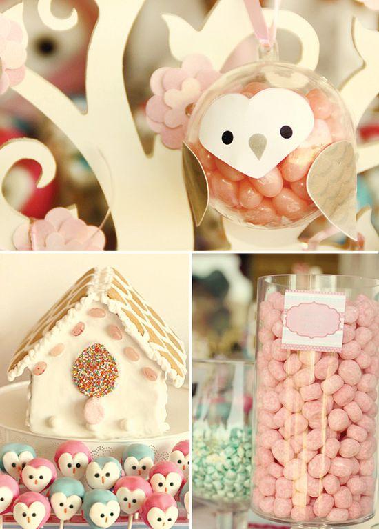 owl party. sooo cute