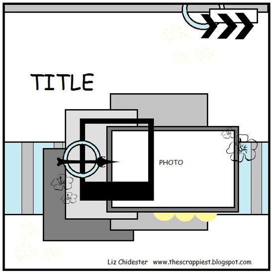 One photo layout