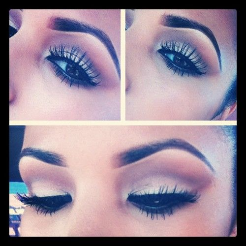 eyebrows and lashes ?
