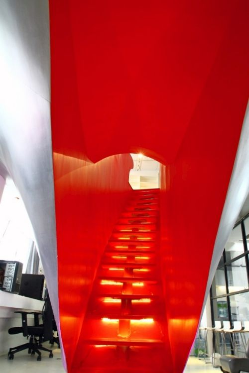 Red Town Office Design