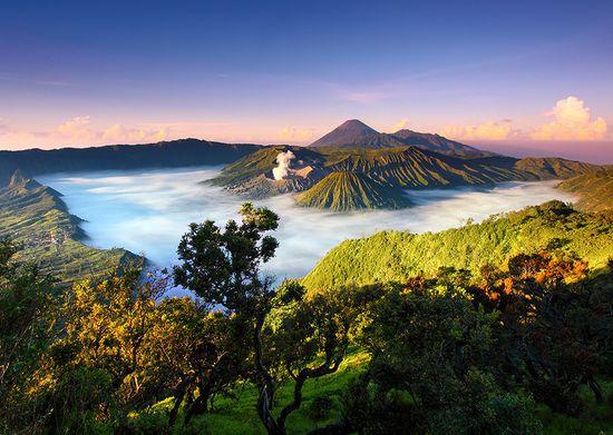 Национален парк Бромо Тенгер Семеру, Индонезия