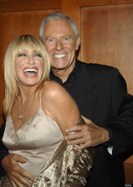 Suzanne Somers and Alan Hamel married 35 years.