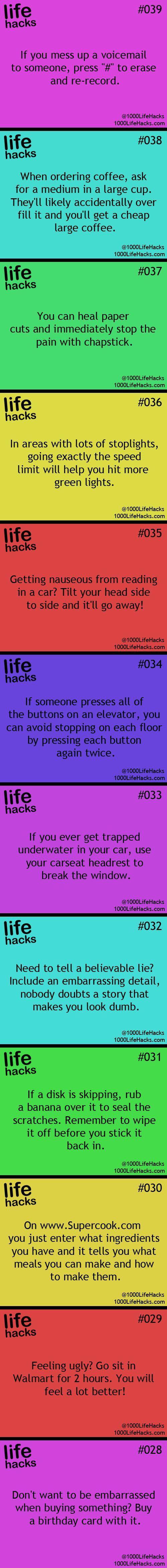 Life Hacks  Board