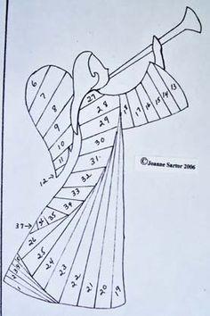 Nativity Patterns on Pinterest   Iris Folding Templates, Aga and ...