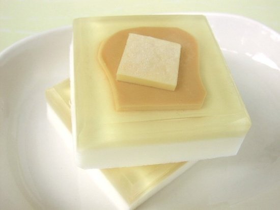Soap++Buttered+Toast++All+Natural+Glycerin+by+SunbasilgardenSoap,+$5.00