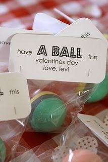 Have a ball on valentines day