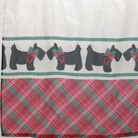 curtainspot: poodle shower curtain