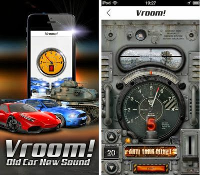 Vroom - Turns Your Old Car Into A Sport Car