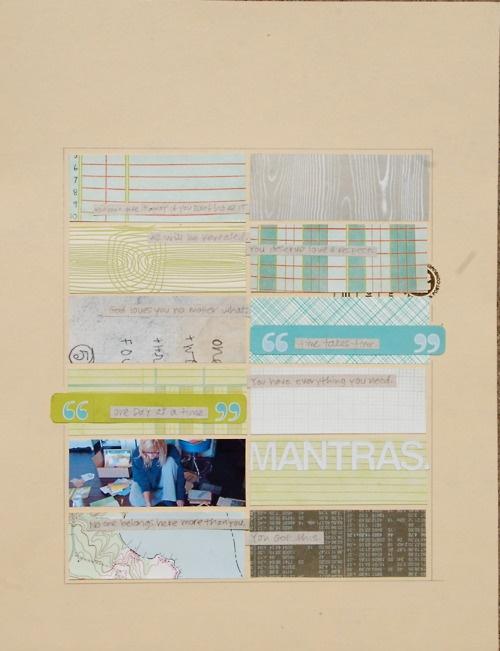Scraps #scrapbook #layout #simple #columns