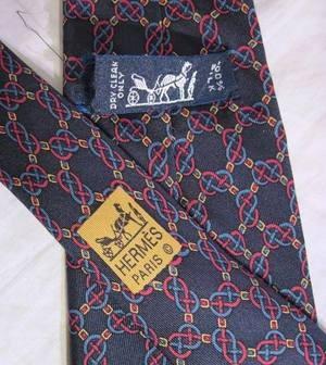 Hermes Men's Silk Necktie, via Flickr.